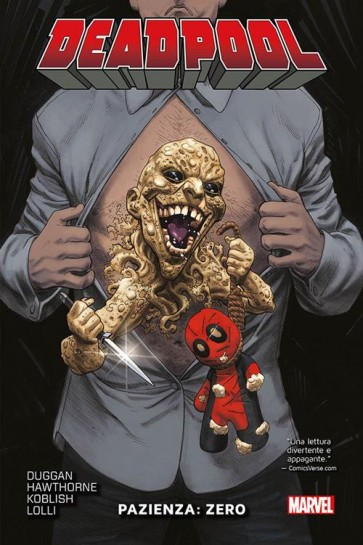 DEADPOOL VOLUME 11 - PAZIENZA: ZERO