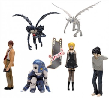 DEATH NOTE - ESPOSITORE 12 PEZZI TRADING FIGURE MINI FIGURE PERSONAGGI
