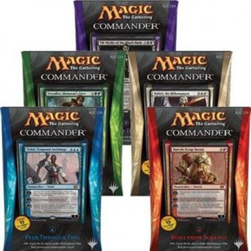 DECKS & SPECIAL: COMMANDER 2014 (ENG) - BOX 5 MAZZI