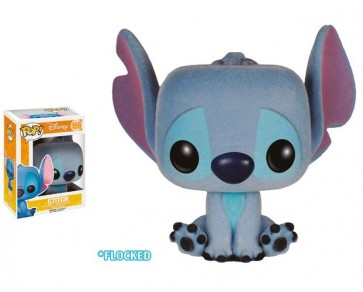 DISNEY - POP FUNKO VINYL FIGURE 159 STITCH (FLOCKED) 10 CM