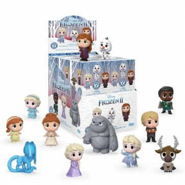 DISNEY FROZEN 2 - MYSTERY MINI BLIND BOX VARIOUS - DISPLAY 12PZ