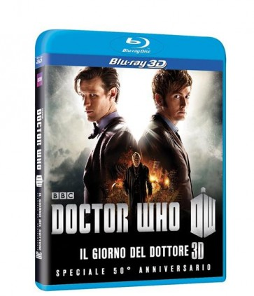 DOCTOR WHO - THE DAY OF THE DOCTOR: 50TH ANNIVERSARY SPECIAL 3D (BLU-RAY)