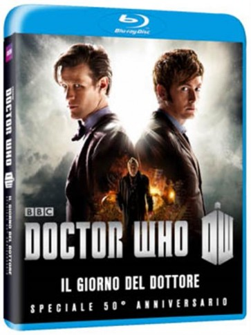 DOCTOR WHO - THE DAY OF THE DOCTOR: 50TH ANNIVERSARY SPECIAL (BLU-RAY)