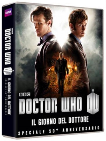 DOCTOR WHO - THE DAY OF THE DOCTOR: 50TH ANNIVERSARY SPECIAL (DVD)