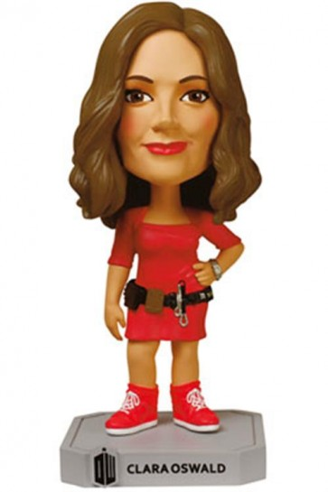 DOCTOR WHO - WACKY WOBBLER - CLARA OSWALD - BOBBLE HEAD 15CM