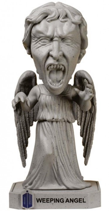 DOCTOR WHO - WACKY WOBBLER - WEEPING ANGEL - BOBBLE HEAD 15CM