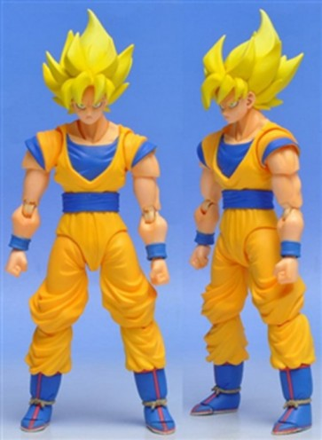 DRAGON BALL Z - SON GOKU SUPER SAIYAN ACTION FIGURE 15 CM BANDAI