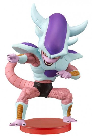 DRAGONBALL Z MOVIE - WCF FREEZA SPECIAL - FREEZA 3ST TRANSFORMATION - BANPRESTO STATUA 7CM
