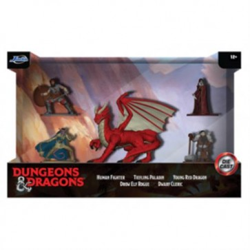 DUNGEON & DRAGONS - GIFTPACK 5 PERSONAGGI DIE-CAST