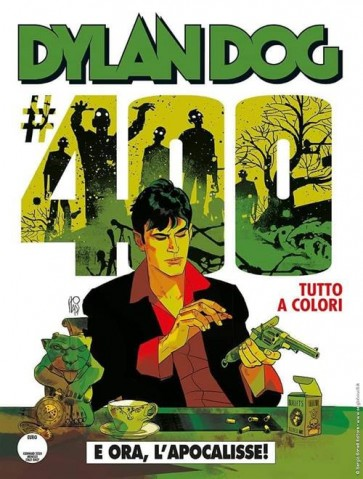 DYLAN DOG 400 FUMETTERIA - E ORA, L'APOCALISSE! - VARIANT B ANGELO STANO