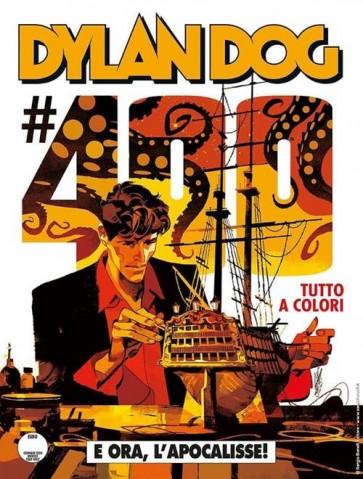 DYLAN DOG 400 FUMETTERIA - E ORA, L'APOCALISSE! - VARIANT C GIGI CAVENAGO