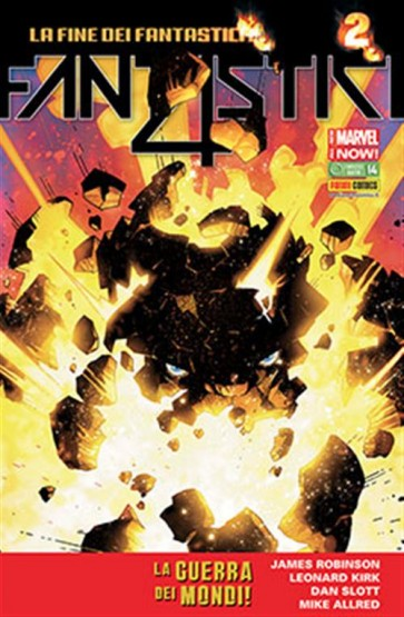 FANTASTICI QUATTRO 14 - ALL NEW MARVEL NOW