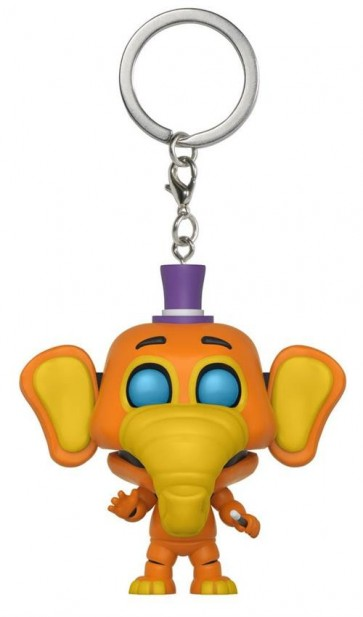 FIVE NIGHTS AT FREDDY'S PIZZA SIMULATOR - POP FUNKO VINYL KEYCHAIN ORVILLE ELEPHANT 4CM