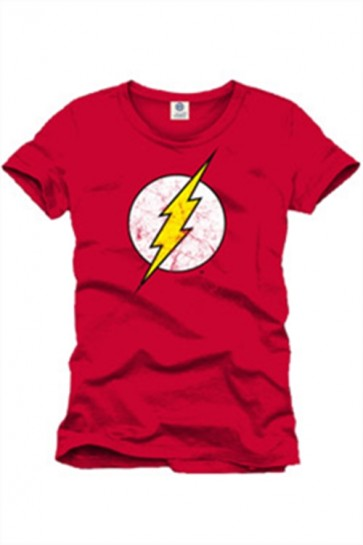 FLASH - T-SHIRT UOMO - LOGO RED - S