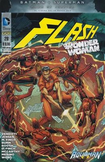 FLASH THE NEW 52 (LION) 46 - FLASH / WONDER WOMAN 28