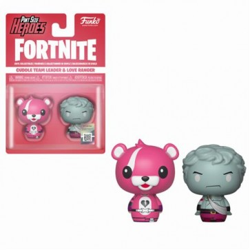 FORTNITE - PINT SIZE HEROES 2PACK CUDDLE TEAM LEADER & LOVE RANGER