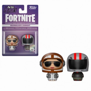 FORTNITE - PINT SIZE HEROES 2PACK MOONWALKER & BURNOUT