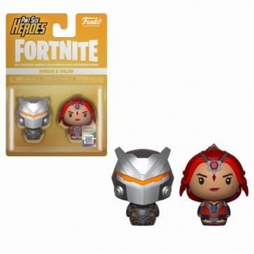 FORTNITE - PINT SIZE HEROES 2PACK OMEGA & VALOR