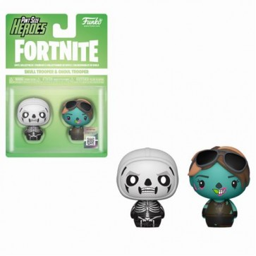 FORTNITE - PINT SIZE HEROES 2PACK SKULL TROOPER & GHOUL TROOPER