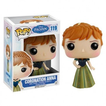 FROZEN DISNEY - POP FUNKO VINYL FIGURE 119 CORONATION ANNA 9 CM
