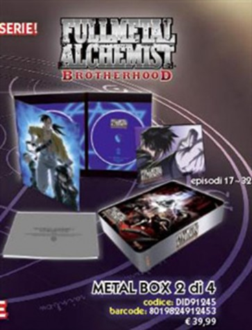 FULLMETAL ALCHEMIST BROTHERHOOD - LIMITED METAL BOX 2