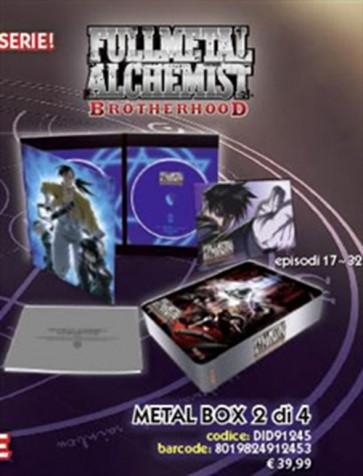 FULLMETAL ALCHEMIST BROTHERHOOD - LIMITED METAL BOX 2