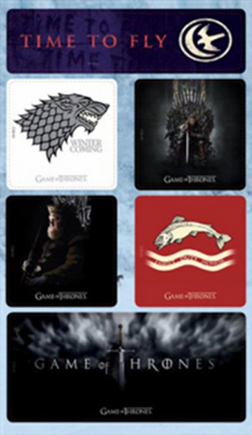 GAME OF THRONES - MAGNETI - SET A
