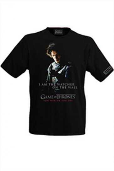 GAME OF THRONES T-SHIRT MAGLIETTA JON SNOW L