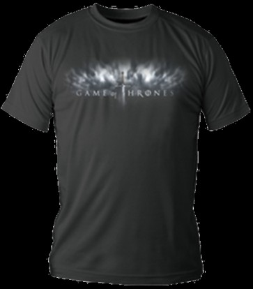 GAME OF THRONES T-SHIRT MAGLIETTA LOGO DONNA  M