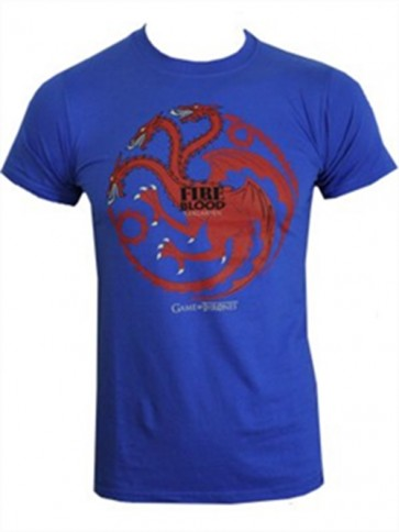 GAME OF THRONES T-SHIRT MAGLIETTA TARGARYEN LOGO UOMO XXL