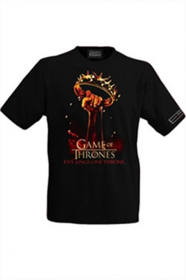 GAME OF THRONES T-SHIRT MAGLIETTA TEASER SEASON 2 XL