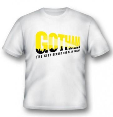 GOTHAM01 - T-SHIRT GOTHAM LOGO L