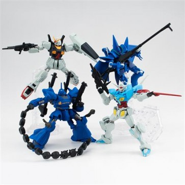 GUNDAM ASSAULT KINGDOM S.9 DISPLAY MINIFIGURE (10)