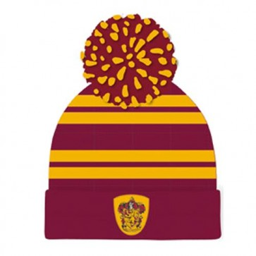 HARRY POTTER - BEANIE POM - HOUSE GRYFFINDOR ONE SIZE