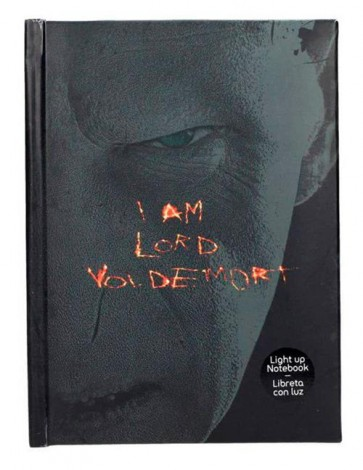 HARRY POTTER - LIGHT UP NOTEBOOK LORD VOLDEMORT