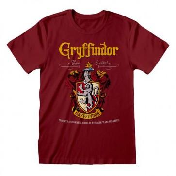HARRY POTTER - T-SHIRT - GRYFFINDOR RED CREST M