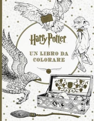 HARRY POTTER - UN LIBRO DA COLORARE