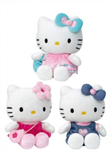 HELLO KITTY - PELUCHE - 15 CM