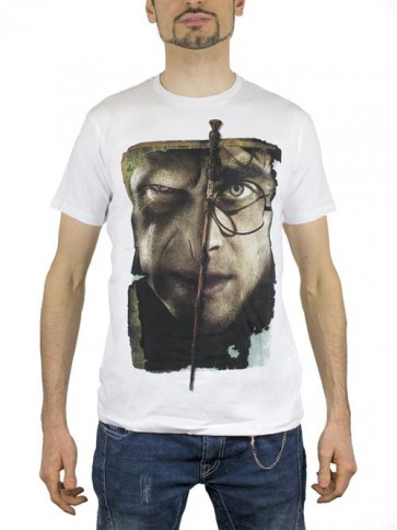 HP03 - T-SHIRT HARRY VS VOLDEMORT XL
