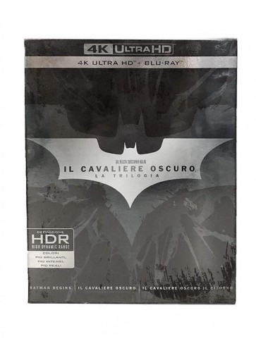 IL CAVALIERE OSCURO (LA TRILOGIA) - 4K ULTRA HD + BLU-RAY