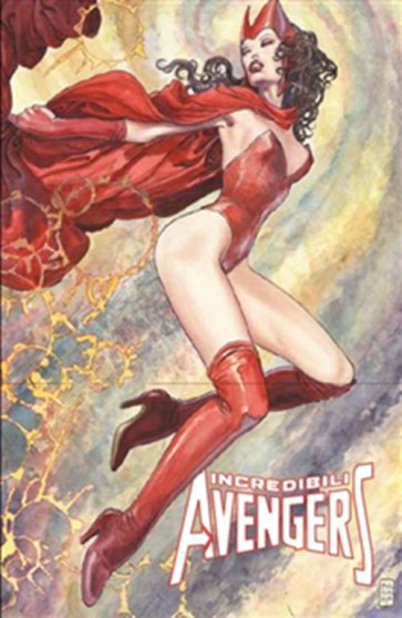 INCREDIBILI AVENGERS 1 - MARVEL NOW - VARIANT MILO MANARA