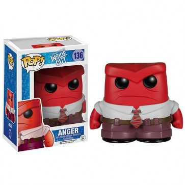 INSIDE OUT - POP FUNKO VINYL FIGURE 136 ANGER 10CM