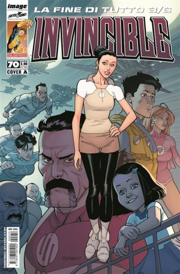 INVINCIBLE 70 - COVER A