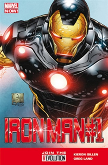 IRON MAN 1 - MARVEL NOW - VARIANT COVER IN PVC