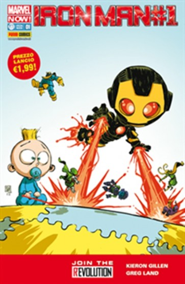 IRON MAN 1 - MARVEL NOW - VARIANT SKOTTIE YOUNG