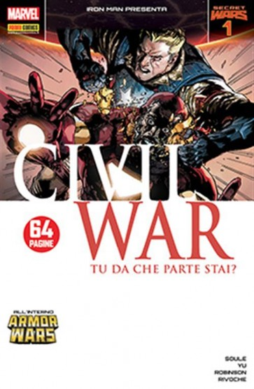 IRON MAN PRESENTA: CIVIL WAR 1