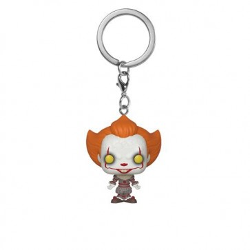 IT: CHAPTER 2 - POP FUNKO VINYL KEYCHAIN PENNYWISE W/ OPEN ARMS 4CM
