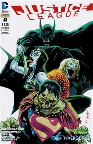 JUSTICE LEAGUE THE NEW 52 (LION) 43 - VARIANT HALLOWEEN
