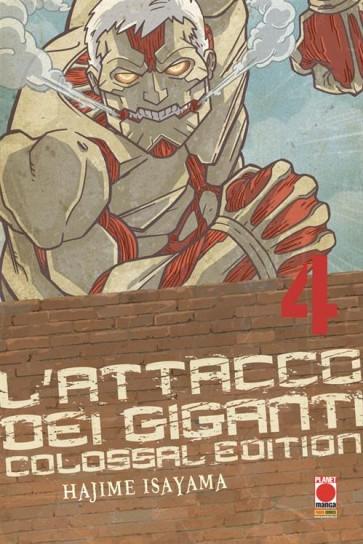 L'ATTACCO DEI GIGANTI COLOSSAL EDITION 4