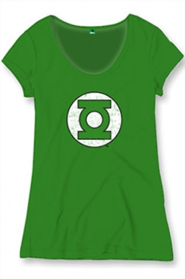 LANTERNA VERDE - T-SHIRT DONNA - JUSTICE LEAGUE - L